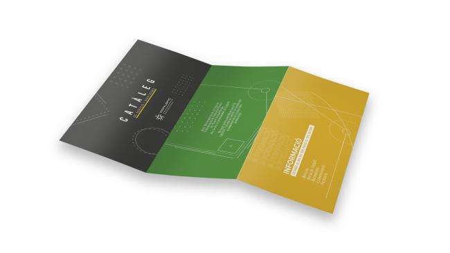 Proyecto agencia FEEL!, interior catálogo de servicios